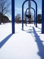 Winter Swingset