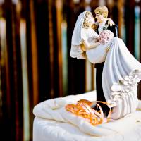 wedding cake couple Art Prints & Posters by Ahmed Amir