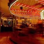 """""""Santa Monica Carousel"""" by klynn"""