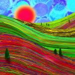 """Rainbow Hills"" by ChrisInside"