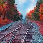 """Autumn Rails"" by ChrisInside"