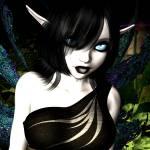 """""""Goth Pixie #2"""" by AlexButler"""