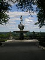 Kykuit- Fountain with Statue