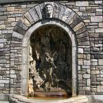 """Fountain Statuary-Kykuit Gardens"" by AvisNoelleDesigns"