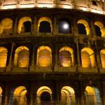 """Full moon at the Colosseum"" by jpetretti"