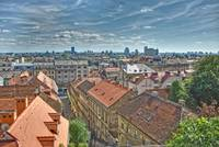 A Sunny Day in Zagreb