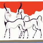 """New Minoan Antelope Fresco"" by MinoanAtlantis"