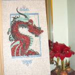 """Dragon Mosaic"" by Largelyart"
