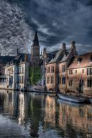 Beautiful Town HDR