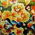 """""""Orange Flower Patch"""" by StudioArtsGroup"""