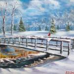 """Bridge At Stonebridge Country Club"" by DavisGalleries"