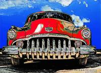 1950 Buick Eight Red