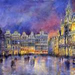 """Belgia Brussel Grand Place Grote Markt"" by shevchukart"