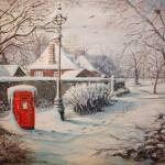 """Hyde Park in the Snow"" by yvonneayoub"