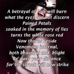 """White Rose Red"" by manjuria"