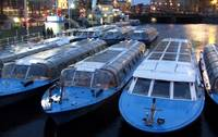 Idle Tour Boats -- Amsterdam in November