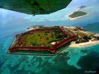 Circling the Dry Tortugas
