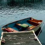 """Vintage Rowboat"" by vineyard"