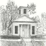 """Ivy Creek Methodist Church"" by BRHedrickGallery"