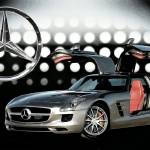 """2011 Mercedes-Benz SLS AMG"" by melroseelkcamp"