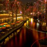 """Christmas on the Riverwalk 1"" by PaulHuchton"