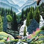 """""""0272 Meditation in the valley of serenity"""" by Nachshonart"""