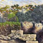 """0488 Hebron Olive Trees copy"" by Nachshonart"