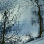 """""""Abstract Ice And Water Reflection"""" by DMHImages"""