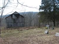Old Barn and Cemetery