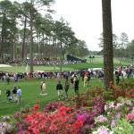 """Augusta National Golf Club 16 green 15 fairway"" by jimmylish"