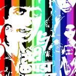 """""""Retro Bollywood Poster : Roti Kapda Makan"""" by moovieshoovie"""