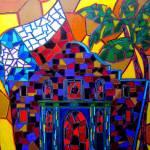 """Alamo Mosaic"" by artbypatti"
