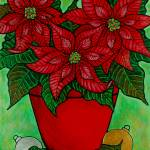 """Poinsettia Season"" by LisaLorenz"