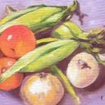 """""""southern veggies"""" by traciebrownart"""
