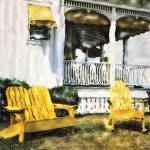 """yellow chairs"" by amsole"
