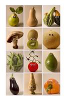 fruits & vegetables with eyes#2