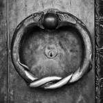 """Brass Ring Door Handle, The Parthenon, Nashville"" by keithdotson"