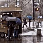 """Coffee Truck Umbrellas"" by JohnFraissinet"