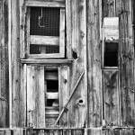 """Wooden Patchwork Building"" by keithdotson"