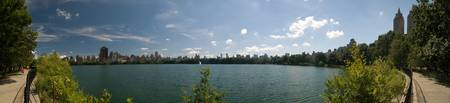 Reservoir Panoramic - Summer