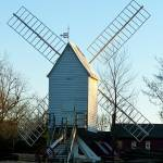 """williamsburg windmill"" by traciebrownart"