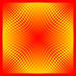 """Warped checkerboard pattern #9"" by bobb"