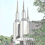 """Washington DC Temple"" by DanAnderton"