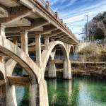 """Barton Springs Bridge"" by johnfrench"