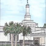 """Columbia SC Temple"" by DanAnderton"