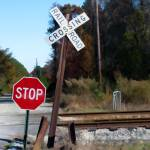 """CSX crossing sign"" by Pauljs"
