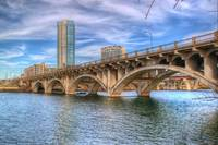 Austin Bridge Across The Colorado River