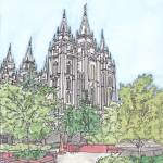 """Salt Lake City UT Temple"" by DanAnderton"