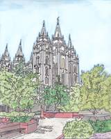 Salt Lake City UT Temple