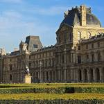 """Louvre shrubs"" by northmetrophoto"